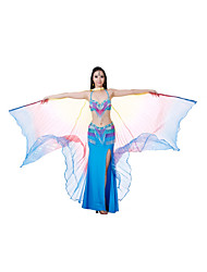 Dance Accessory Polyester Belly Dance 360 Isis Wings For Ladies