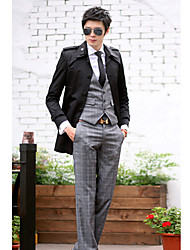 Men'S Casual Thick Trench Coat