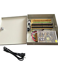 18 Channel CCTV Camera Power Supply - 12VDC - 10Amps