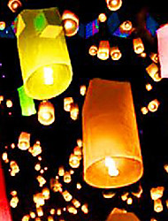 Paper Ongoing Lantern - Set of 6 (More Colors)