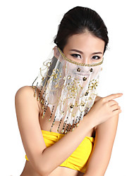 Dancewear Tulle With Beading Belly Dance Veil For Ladies(More Colors)