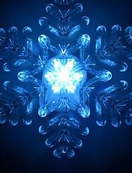 Le coloré Snowflake B Christmas Light (couleur aléatoire)