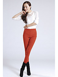 Women's Casual/Work Skinny Pants , Others/Spandex/Polyester Micro-elastic