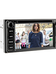 6.2inch 2 Din Universal Car DVD-Player für Toyota Vor 2006 mit 3G, WIFI, GPS, IPOD, RDS, BT, Touch Screen