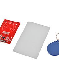 rc522 rfid-module + ic-kaart + s50 fudan kaarten sleutelhangers voor (voor Arduino) bieden ontwikkeling code