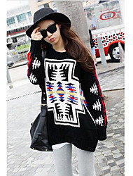 Women's Fashion Jacquared Sweater