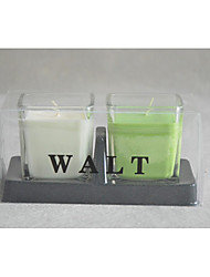 "3.5""H Classic Votive Jar Candle With Gift Box 2pcs Set"