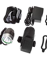 SSC-P7 3-Mode 1xCree MC-E LED della bicicletta della luce anteriore / fari (1200LM, 4x18650, Nero)