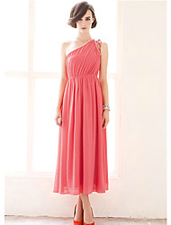 Women's Dresses , Chiffon Casual/Work Woosa