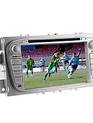 7 pollici 2 din lettore DVD dell'automobile nel cruscotto per ford focus 2011-2012 con gps, BT, iPod, RDS