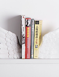 """7""""Flying Wings Type Polyresin 1 Pair Bookends"""