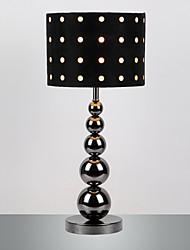 Lampe de table moderne savoureuse avec des boules de métal