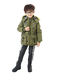 Boy's Military Style with Hat Coat