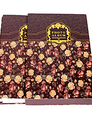 "Libro Stile Europeo Floral 4 ""* 6"" Album Foto (320 Pocket)"