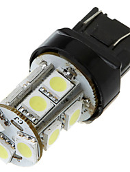 7443 T20 13 5050 SMD LED Car Tail Brake Stop Turn Light Bulb Lamp White