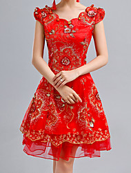 Lady Antebellum Chinese Style Evening Cheongsam