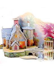 Puzzles paisagem de outono 3D