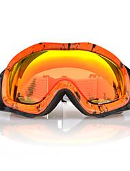 BASTO Snow Googgles Orange Frame Orange Sensor Mirror Lens