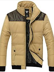 Куртка мужская повседневная с контрастными вставками