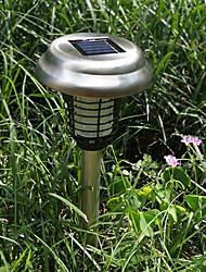 Acier inoxydable LED solaire tueur de moustique lumières Lawn Light