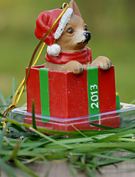 Cute Chihuahua Decorative Ornament Christmas Gift for Pet Lovers