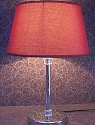 Simple minimaliste Date de lampe de table rouge
