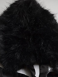 Lady's Faux Fur Collar
