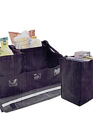 tirol® organizador maletero abatible con 3 robusto bolsas 5 piezas caja de almacenamiento de nylon kit