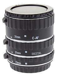 af macro tube de bague d'extension mis 13/21/31mm pour Canon EOS monture EF / EF-S objectif