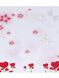 Motif personnalisé de fleur de fraise papier pétale Cônes - Ensemble de 12