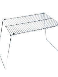 Outdoors Silver Iron Grill