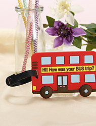 Luggage Tag Favors - Bus