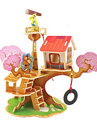 High Class 3D Tree House Puzzles