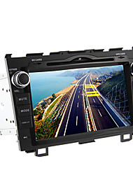 8inch 2 DIN no painel do carro DVD Player para Honda CR-V com 3G, Wi-Fi, GPS, BT, IPOD, RDS, tela de toque