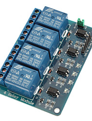 4 Channel Relay Module with Optocoupler 5V for PIC AVR DSP ARM for Arduino