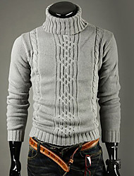 Männer Casual hohen Kragen Warm Sweater