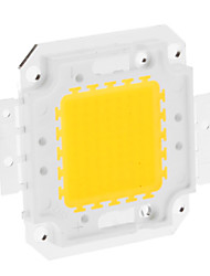 DIY 50W 3950-4000LM 1500mA 3000-3500K Warm White Light Integrated LED Module (30-36V)