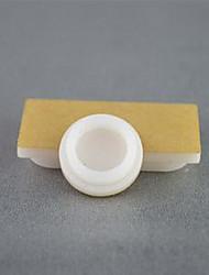 Porzellan-weißem Acryl Snack Plattenhöhe von 6 mm Durchmesser 18 mm für Ameisen