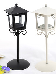 "11""European Style Street Lamp Iron Candle Holder"