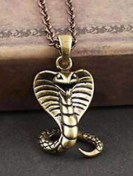 Overlord Cobra Copper Gothic Lolita Necklace