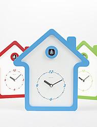 "13""H Modern Style Cuckoo House Type Tabletop Clock"