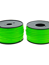 Reprapper 3D Printer Consumables Green Color (Optional Wire Diameter and Material) 1 Piece