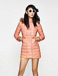 Women's Coats & Jackets , Feather/Fur/Polyester/Spandex Casual Othermix
