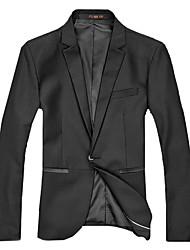 Men'S Casual Suit Pocket Facing