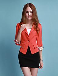 Miss well Big Size Short Slimming Blazer(Red)