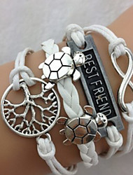 Women's Turtle Tree Bracelet