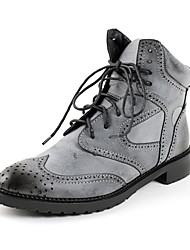 Women's Chunky Heel Motorcycle Boots Oxfords/Ankle Boots (More Colors)