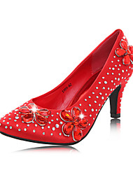 Women's Wedding Shoes Heels Heels Wedding Red/Silver