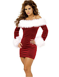 Graceful Lady Christmas Furry Costume