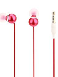 Uldum Super-basses de haute qualité des écouteurs intra-auriculaires avec micro pour MP3, MP4, téléphone mobile